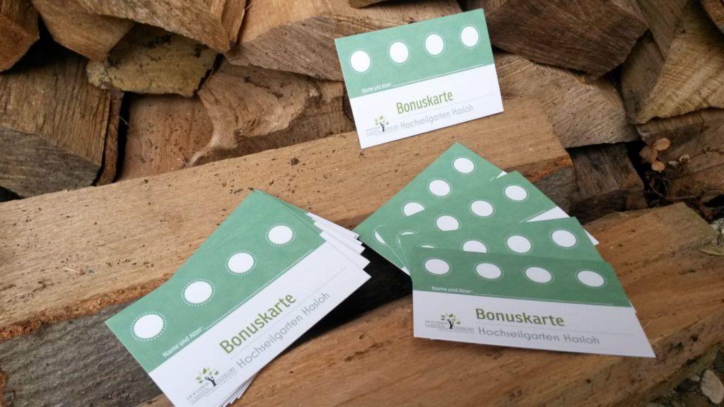 Bonuskarte - Hochseilgaren-Hasloh