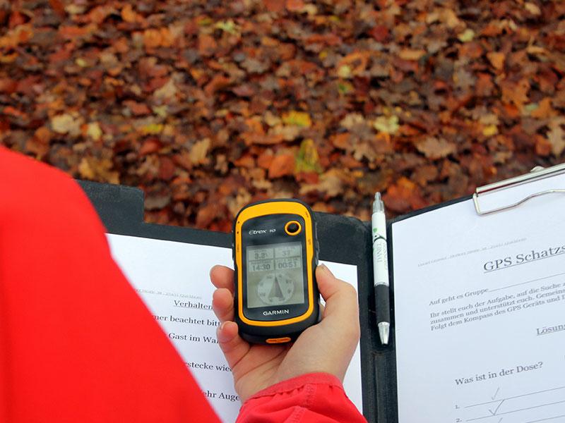 Geocaching im Hochseilgarten-Hasloh