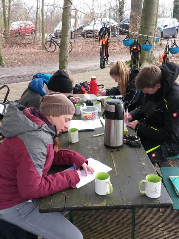 Blogbeitrag - Ausbildung 2020 im Hochseilgarten Hasloh