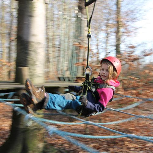 Kinderparcours - Hochseilgarten Hasloh